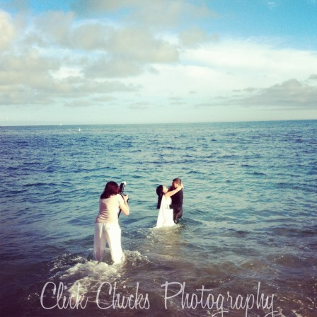 LC at DandD trash the dress