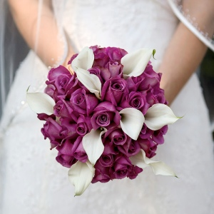 2 Purple-Wedding-Bouquet