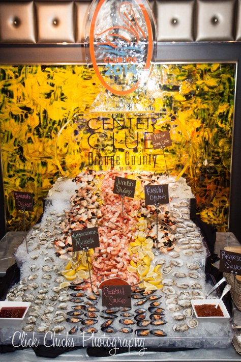 Wish I could've been alone with this shellfish display! I could've done some damage.