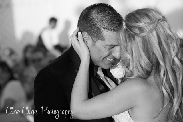 The first dance is always filled with emotion. That's why I love it. And like to focus on the moment by making the image black & white (less distracting).